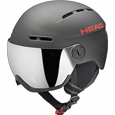 Head Herren 3241-16 Visier Skihelm Knight Anthracite