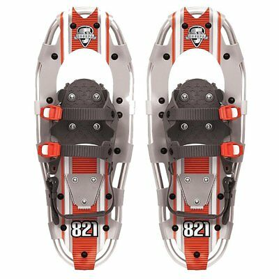 Yukon Charlie's Sherpa Series Snowshoe 8 x 21 Inches, Orange/ Gray | 80-5001