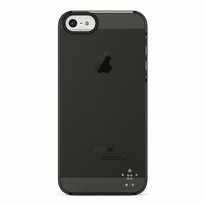 Belkin Shield Sheer Luxe Acryl noir iPhone 5/5s [Noir, Transparent]  NEUF