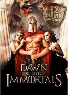 Dawn of the Immortals - 12 Movie Collection [New DVD] 3 Pack