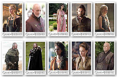 Game Of Thrones Characters - Postcard Set #2