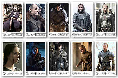 Game Of Thrones Characters - Postcard Set #4