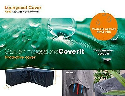 Garden Impressions 70840Lounge Housse Coque coverit, gris NEUF