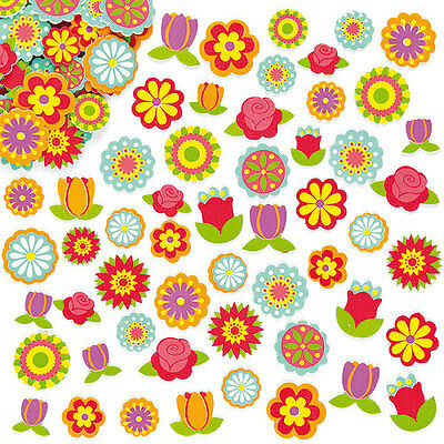 Flower Foam Stickers for Kid's Crafts & Card Making (Pack of 144)
