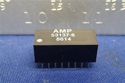 Amp 53137-6 Hexadecimal Dip Switch   New Old Stock Nos Unused