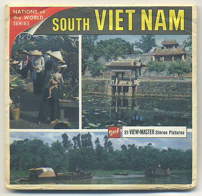 Republic of South Vietnam 1960's GAF View-Master Packet B-250