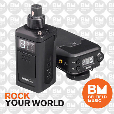 Rode RodeLink NewsShooter Kit - Wireless XLR Mic System Transmitter & Receiver