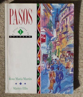 Pasos 1: A First Course in Spanish, Ellis, Martyn Paperback Book The Cheap Fast