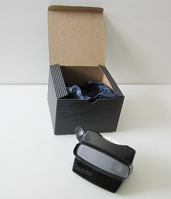 Black Color View-Master Model L Image 3-D Viewer New Condition with Box + Reel