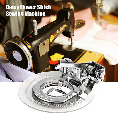 Sewing Machine Flower Stitch Embroidery Foot for Brother Singer Janome Juki