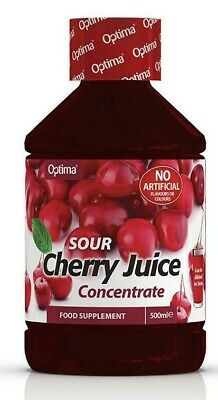 Optima Montmorency Cherry Juice Super Concentrated Sour Cherry Juice 2 X 500ml.