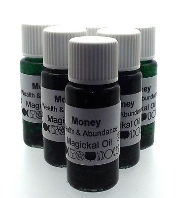 Money Herbal Infused Botanical Oil