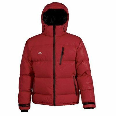 Trespass Igloo Doudoune pour homme, Homme, Igloo, Rouge [2X-Small] NEUF