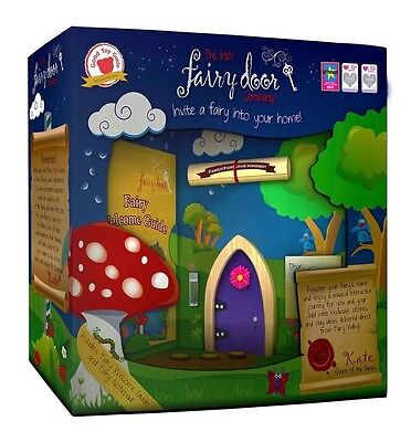 Irish Fairy Door - The Irish Fairy Door Company (Purple)