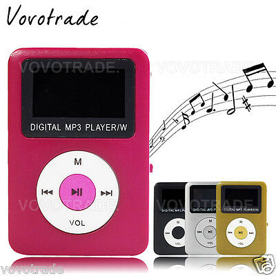 NEW Digital MP3 Player Speaker LCD Screen Support 32GB Micro SD Card reader