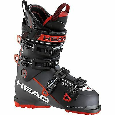 Head Herren 606031 Alpin Skischuh Vector EVO 110 Black/Anthrazite-Red