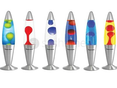 """16"""" Soothing Motion Lava Lamp Relaxing Glitter Liquid Wax Light Novelty Gift"""