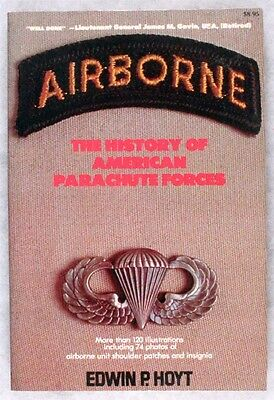 Military Book:  Airborne: The History of American Parachute Forces - insignia