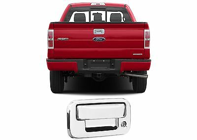 Chrome Tailgate Handle For 2004-2014 Ford F-150 F150 Stick On New Free Shipping