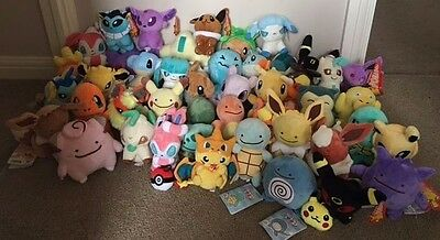 2016 Pokemon Plush Collection - Choose From Over 50 Soft Toy Characters