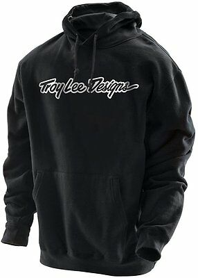 Troy Lee Designs Mens Signature Cotton Blend Pullover Fleece Hoodie