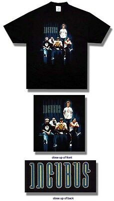 Incubus- NEW Group Photo T Shirt- 2XLarge SALE FREE SHIPPING TO U.S.!