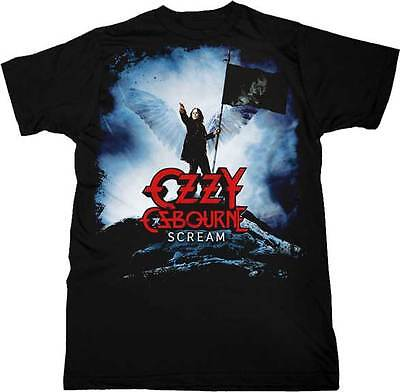 Ozzy Osbourne- NEW Winged Ozzy Scream T Shirt - Large SALE FREE SHIP!
