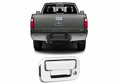 Chrome Tailgate Handle Cover For 2008-2016 Ford F-250 F-350 New Free Shipping