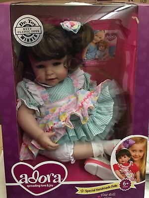 "Adora 20"" Piece of Cake with Brown Hair and Blue Eyes Toddler Play Doll"