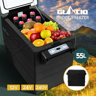 95L Portable Freezer Fridge 12V/24V/240V Camping Car Boating Caravan Bar Fridge