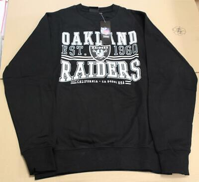 Majestics Massack Crew Sweater Pullover LA Kings NY Yankees Oakland Raiders