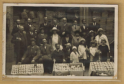 Cpa Carte Photo marchand de citrons et d'oranges au Congrès de Naples 1922 bt045