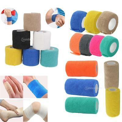 Elastic Sports Tape Muscle Care Self Adhesive Medical Wrap Bandage Strapping