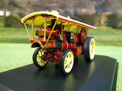 Oxford 1/76 Burrell Steam Showmans Loco No1 Yeomans Galloping Horses 76Bur005