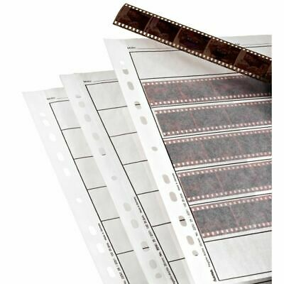 Hama 35mm Negative Storage Pages for Ringbinder pack 25 Sheets Sleeves Strips