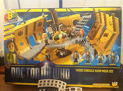 Tardis Console Room Mega Set - Dr Who (Doctor) - Character Building –