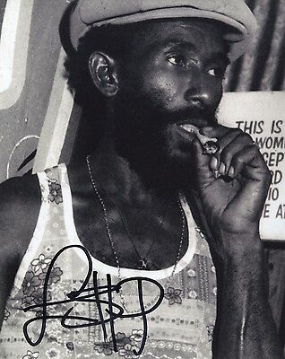 Lee 'Scratch' Perry - Marley & Wailers Producer - Autographed 8x10 Photograph