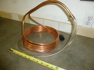 "Immersion copper Chiller 3/8"" Copper Coil Homebrew Beer Brew Whiskey Brewing"
