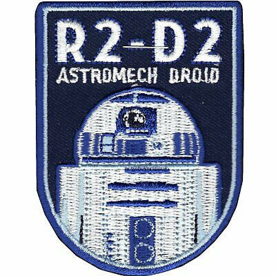 Star Wars Official R2-D2 'Astromech Droid' Force Awakens Lucasfilm Iron On Patch