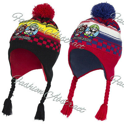 Super Mario laplander Hat with Ear Flap 52cm, 54cm New Winter