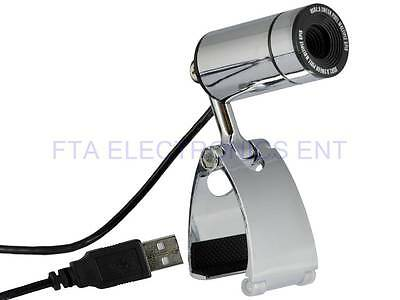12MP USB HD PC Webcam Metalic with Stand Monitor Clip for PC Laptop Notebook MIC