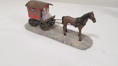 NIB Partylite HS7315C Candle Delivery Wagon