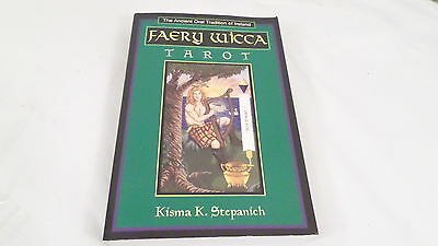 1998 1st Edition Faery Wicca Tarol Book by Kisma K. Stepanich