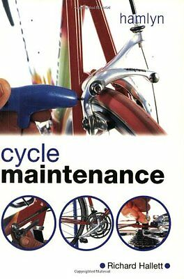 Cycle Maintenance, Hallett, Richard Paperback Book The Cheap Fast Free Post