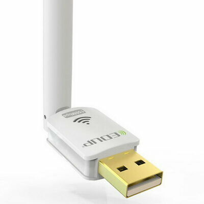 Wireless WiFi Adapter Card Driverless USB Cordless N Network Internet External