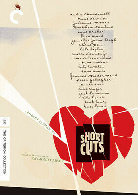 Short Cuts (Criterion Collection) [New DVD] 4K Mastering, Restored, Special Ed