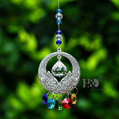 Crystal Colors Suncatcher Ornament Prisms Pendant Hanging Healing Mobile Gift