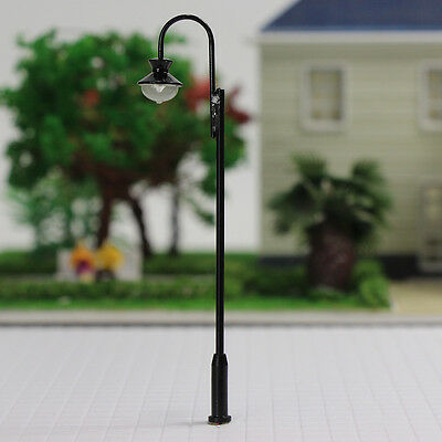 LQS31 5PCS  Model Railroad train Lamp posts Yard street light Lamps OO/HO scale