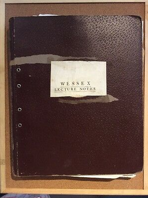 WESTLAND AIRCRAFT LIMITED - Wessex Mk 2 Helicopter - LECTURE NOTES 1960's - RARE