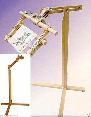Elbesee Posilock Floor Stand For Cross Stitch & Needlework. Frame NOT included